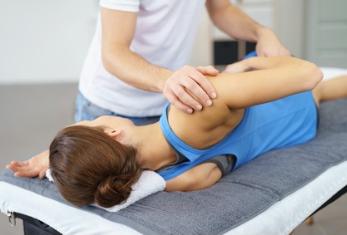 Schulter-OP, Humerusfraktur beim Einrenken